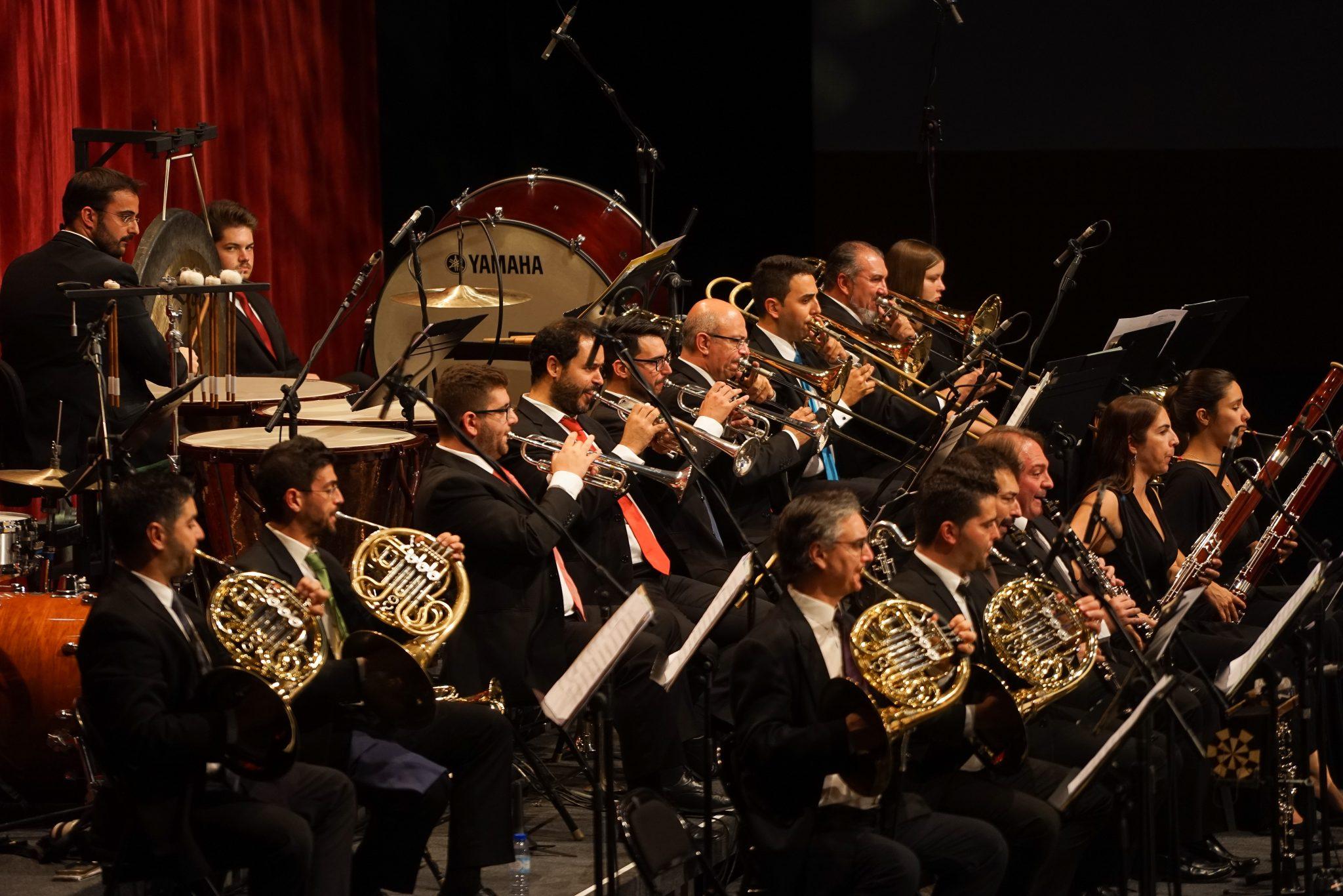 Secção de metais da Orquestra Metropolitana de Lisboa